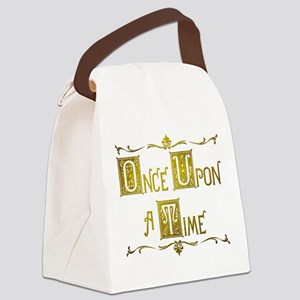 Once Upon a Time Canvas Lunch Bag