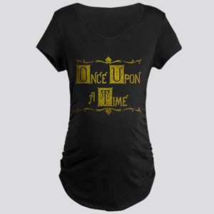 Once Upon a Time Maternity Dark T-Shirt