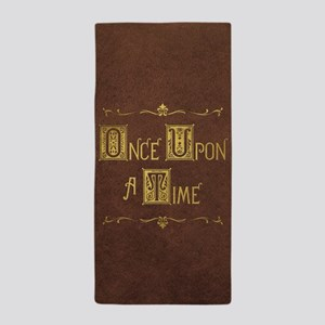 Once Upon a Time Beach Towel