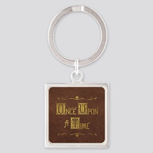 Once Upon a Time Square Keychain