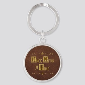 Once Upon a Time Round Keychain