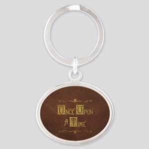 Once Upon a Time Oval Keychain