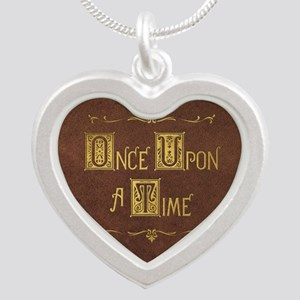 Once Upon a Time Silver Heart Necklace