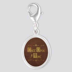 Once Upon a Time Silver Oval Charm