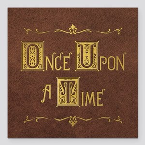 """Once Upon a Time Square Car Magnet 3"""" x 3"""""""