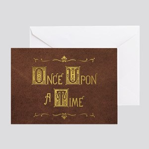 Once Upon a Time Greeting Card