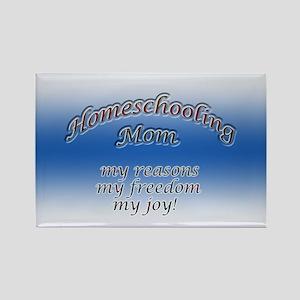 Homeschooling Mom Rectangle Magnet