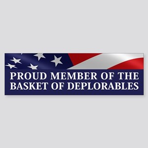 The Basket Of Deplorables Bumper Sticker