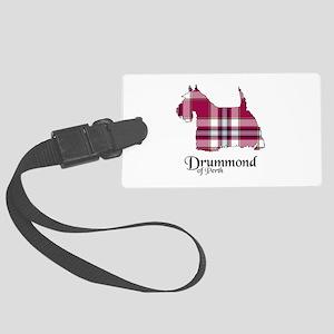 Terrier-DrummondPerth dress Large Luggage Tag