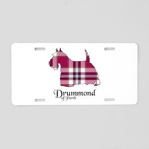 Terrier-DrummondPerth dress Aluminum License Plate