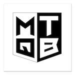 Mini Quad Test Bench Logo Square Car Magnet 3