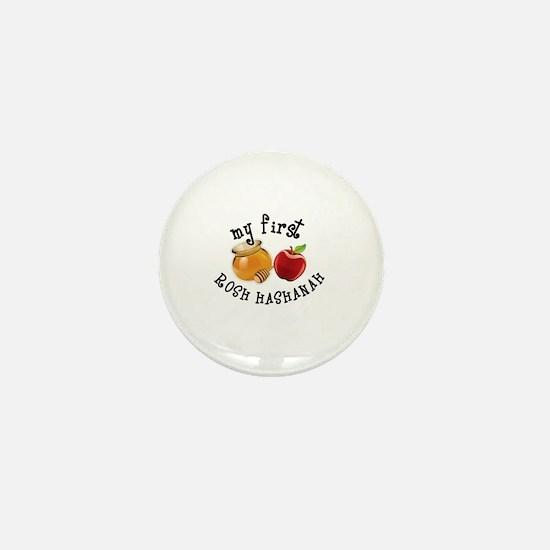 Cute Rosh hashanah Mini Button