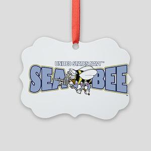 Navy SeaBee Ornament
