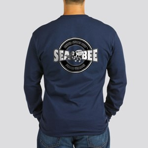 2-Sided - Navy Seabee Long Sleeve T-Shirt