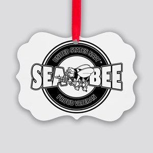Navy SeaBee Ornament