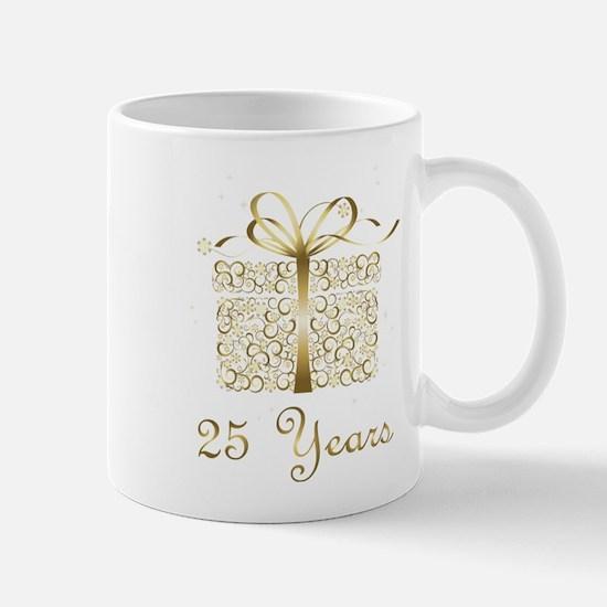 25 Years Anniversary or Birthday Mugs