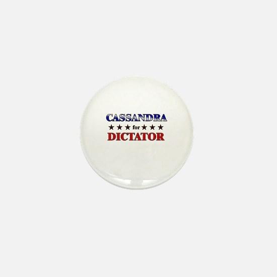 CASSANDRA for dictator Mini Button