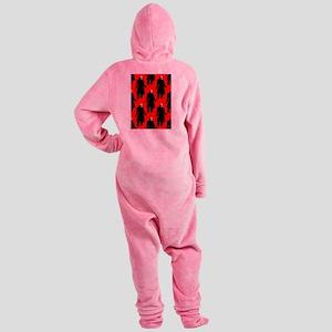 red nosferatu Footed Pajamas