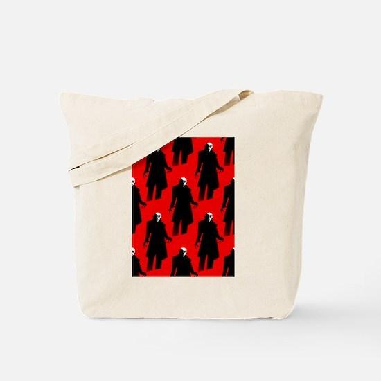 red nosferatu Tote Bag