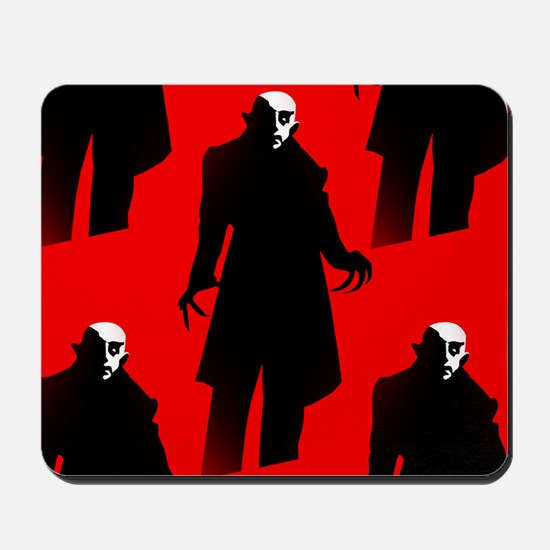 red nosferatu Mousepad