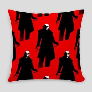 red nosferatu Everyday Pillow
