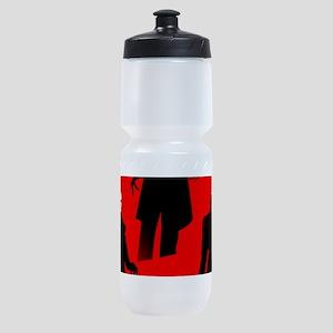 red nosferatu Sports Bottle