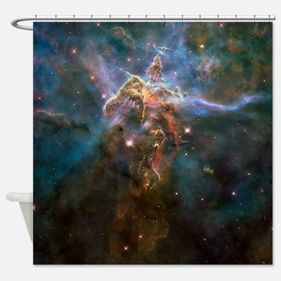 Carina Nebula by Hubble/STScI Shower Curtain