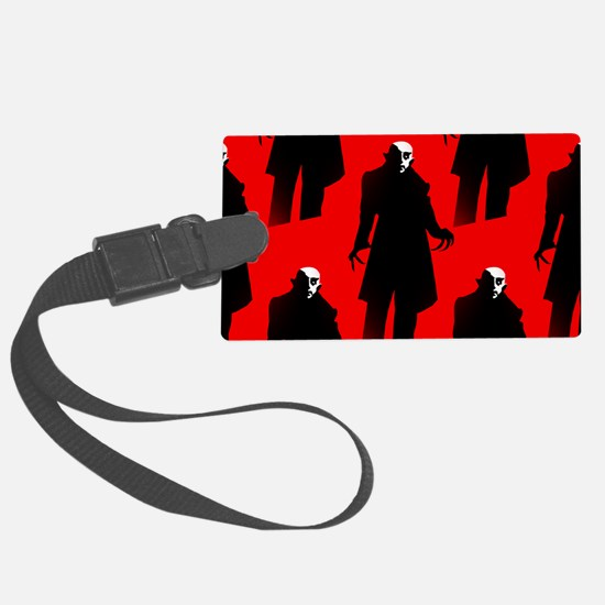 red nosferatu Luggage Tag