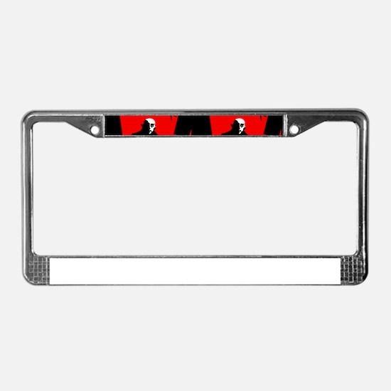 red nosferatu License Plate Frame