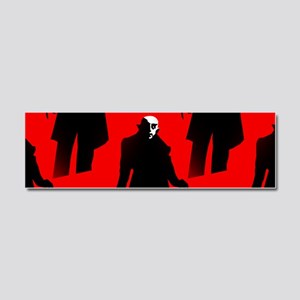red nosferatu Car Magnet 10 x 3