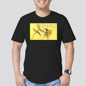 Owl and Jay - Kitagawa Utamaro T-Shirt