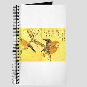 Owl and Jay - Kitagawa Utamaro Journal