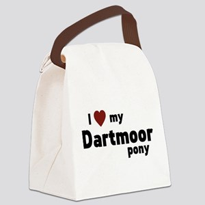 Dartmoor pony Canvas Lunch Bag