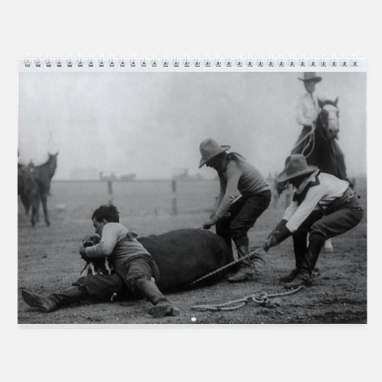 The Wild West Wall Calendar