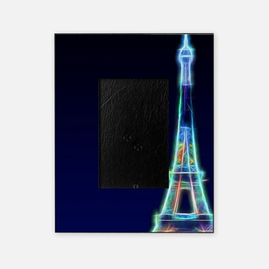Glowing Eiffel Tower, Paris, France Picture Frame