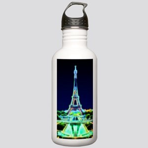 Glowing Eiffel Tower, Stainless Water Bottle 1.0L