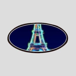 Glowing Eiffel Tower, Paris, France Patch