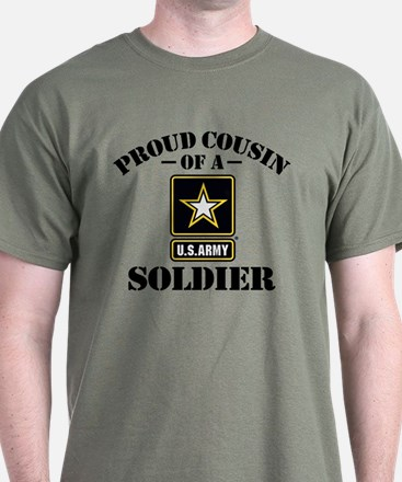 Proud Cousin U.S. Army T-Shirt