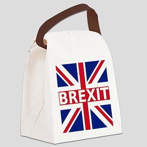 Brexit Flag Canvas Lunch Bag