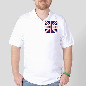 Brexit Flag Golf Shirt
