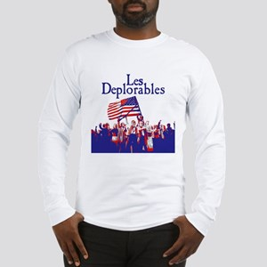 Les Deplorables Long Sleeve T-Shirt