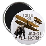 Wright Brothers American Progress Magnet