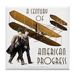 Wright Brothers American Progress Tile Coaster