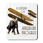 Wright Brothers American Progress Mousepad