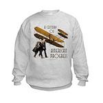Wright Brothers American Progress Kids Sweatshirt