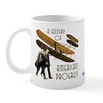 Wright Brothers American Progress Mug