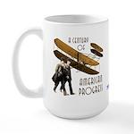 Wright Brothers American Progress Large Mug