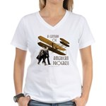 Wright Brothers American Progress Women's V-Neck T