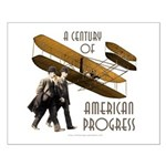 Wright Brothers American Progress Small Poster