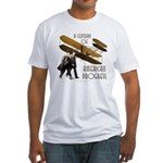 Wright Brothers American Progress Fitted T-Shirt